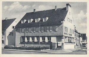 Ansichtskarte Baden Württemberg Trossingen Hotel Traube Wein - Handlung