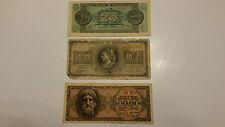 25- 1000-500000  DRACME- GRECIA