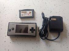 Nintendo Game Boy Micro -  1 Game & Charger!