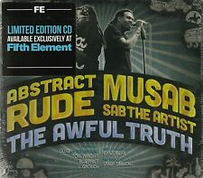 SEALED! Abstract Rude + Musab Sab the Artist The Awful Truth CD RARE Ltd Ed. Rap