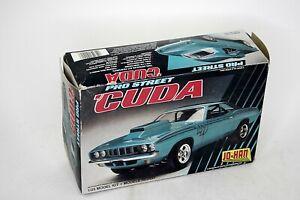 Jo-Han Pro Street 'CUDA 1:25 Model Kit Open Box