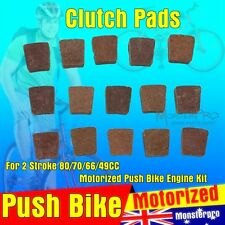 Clutch Pads 49cc 66cc 70cc 80cc 2 Stroke Motorised Motorized Bicycle Push Bike