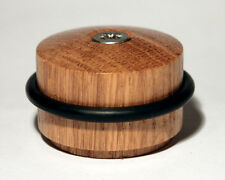 Door Stop Stopper Solid Oak rubber buffer fixings included premium quality