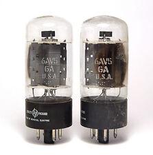 2x tubo amplificador hewlett packard 6av5 ga, beam power amplifier tubes
