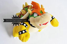 SUPER MARIO BROS. BOWSER PELUCHE GRANDE 25 CM plush jr. junior koopa doll new 2