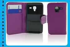 Extra sottile protettiva in cuoio Wallet FLIP CUSTODIA COVER SAMSUNG GALAXY ACE 2 I8160
