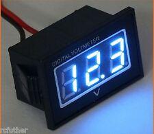 12V / 24V Trolling Motor Digital Volt Meter Battery Indicator Charge - blue mete
