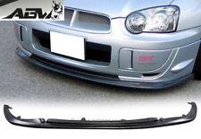 2003-2005 Peanut Eye Subaru WRX STI Front Lip Polyurethane