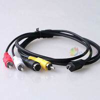 1.4m Digital AV / TV Out Video Cable/Lead for Sony Camcorder Handycam VMC-15FS