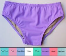 MENS Swim Brief in White, Pink, Mint, Blue, Lavender, Turquoise, Coral