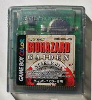 Biohazard (Resident Evil) Gaiden for Nintendo Gameboy Color NTSC-J Japanese