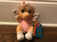 "1985 ""Muppet Babies"" (Baby Miss Piggy) ""Hasbro Softies"" Plush, New! Rare!"
