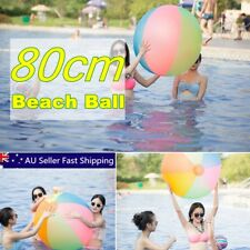 "80cm 31"" Panel Inflatable Sea Beach Ball Holiday Swimming Pool Party Garden Ball"