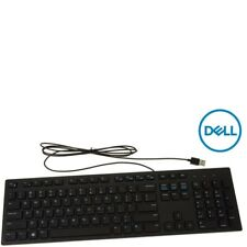 Dell Slim USB Wired Keyboard Black (English) Chiclet Style Keys (KB216)