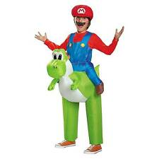 Disguise Mario Riding Yoshi Child Imported 100 Polyester Costume Inflatable