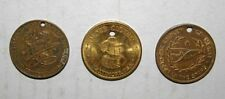 3 really old clothing company tokens