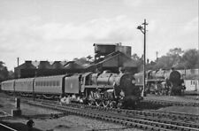 PHOTO  BR STANDARD 5MT 4-6-0 NO. 73110 AND 73119 AT BOURNEMOUTH SR 1958