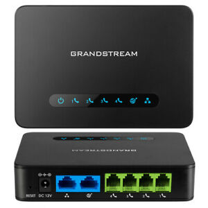 Grandstream HT814 VOIP ATA Adapter USED IN GOOD CONDITION Analog FXS 4 Port