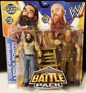 WWE Luke Harper & Erick Rowan Battle Pack Series 28 Mattel First Time In Line