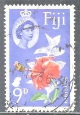 FIJI  SC #180 **USED** 9p 1963  FLOWER  SEE SCAN