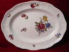 WEDGWOOD china QUEEN'S SPRAYS (no #) pattern Oval Serving Platter @ 13-1/2""