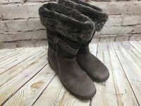 Blondo Womens Size 6.5M Shearling Lined Waterproof Boots Work Boots