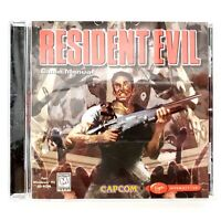 Resident Evil (PC, 1997) Windows 95 CD-Rom Complete In Jewel Case