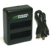 Wasabi Power Dual Battery Charger for GoPro HERO4 and GoPro AHDBT-401, AHBBP-401