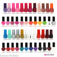 50 x Nail Varnish Polish Set for Artificial Nails Many Different Colours