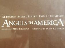 New ANGELS IN AMERICA Produced for Emmy Consideration 4 VHS Video Box Set HBO
