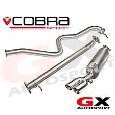 FD68 Cobra Sport Ford Fiesta Mk7 1.0T Eco-boost Zetec-S (13>) Cat Back Non Reson