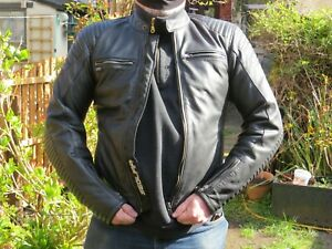 Segura Elwood Leather Motorcycle jacket  chest 38-40 Armoured
