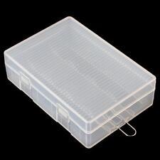 Portable Hard Plastic Battery Case Holder Storage Box for 4 x 26650 Batteries