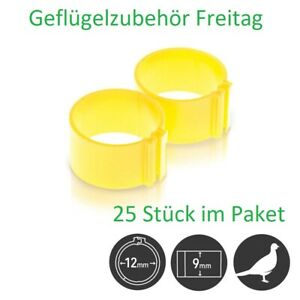 Fasan Ringe D12mm  25 Stück pro Packung