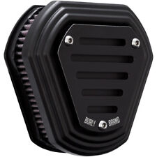 Burly Black Hex Air Cleaner for 2008-2016 Harley Touring & 16-17 Softail