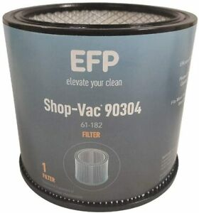 EFP Replacement Shop Vac Filter 90304, 9030400 Wet/Dry Vacuum Cartridge Filter