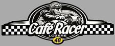 Dept 48  LOZERE - CAFE RACER  bretagne logo sticker