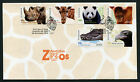 2012 Zoos S/A FDC First Day Cover Stamps Australia