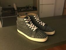 christian louboutin mens sneakers Shoes Spikes 43 Authentic