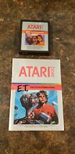 Atari 2600 E.T. The extra-Terrestrial - Cartridge and Manual