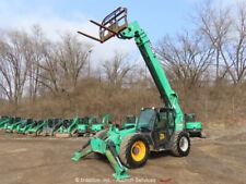 New listing 2012 Jcb 510-56 56' 10,000Lb Telescopic Reach Fork Lift 10K Telehandler bidadoo