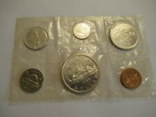 1966 Royal Canadian Mint Proof-Like 6 coin set, 80% silver