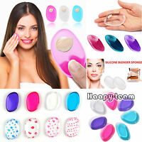 Silicone Gel Make Up Sponge Foundation Beauty Cosmetic Puff Blender Applicator