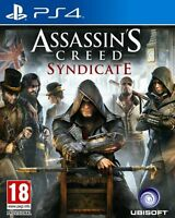 Assassins Creed Syndicate PS4  Mint Condition Super Fast Delivery F & F