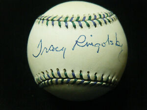 Tracy Ringolsby HOF autographed 1998 All Star Game baseball