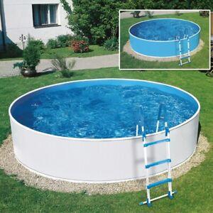Rundpool Swimmingpool Poolset 360x90 cm BW2 mit Leiter