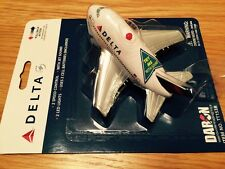 DELTA Airways Airlines Jumbo Fun Toy Pull Back Plane Airplane Lights Jet Noise