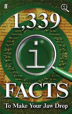 """AS NEW"" 1,339 QI Facts To Make Your Jaw Drop, Mitchinson, John, Harkin, James,"