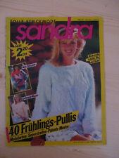 Sandra 3/88, Strickheft