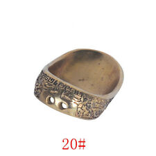 Durable Archery Thumb Ring Archery Finger Protector Gear Guard Longbow 20/22mm